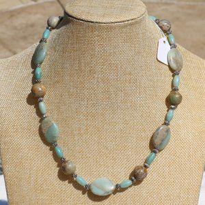 Polished Desert Jasper Handmade Gemstone Necklace